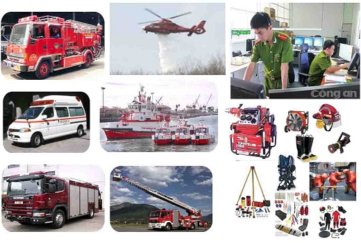 Bộ Công an: Ban hành Thông tư quy định tiêu chuẩn, định mức trang bị phương tiện cho lực lượng Cảnh sát phòng cháy và chữa cháy.